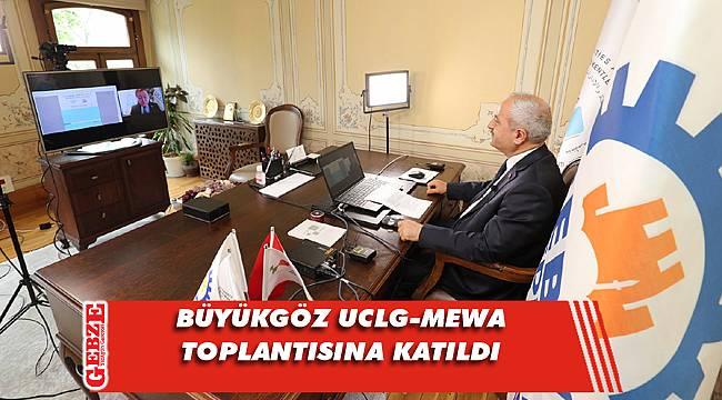 Gebze Belediyesi online toplantıya ev sahipliği yaptı