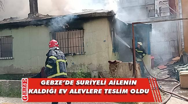Gebze'deki yangında facianın eşiğinden dönüldü