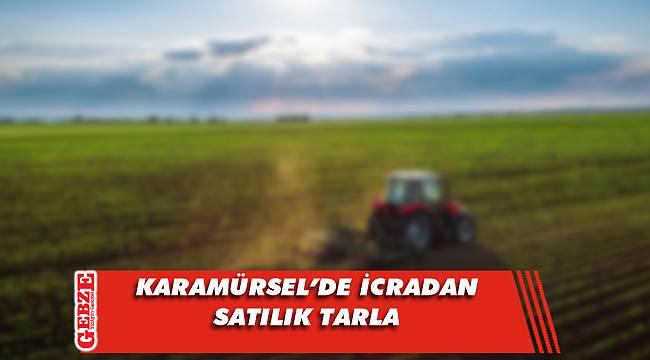 Karamürsel'de 8 bin 171 metrekare tarla icradan satılık