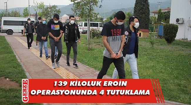 Kocaeli'ndeki uyuşturucu operasyonuna 4 tutuklama