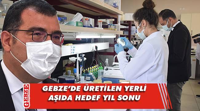 Mandal, Gebze'de yerli aşı hakkında konuştu