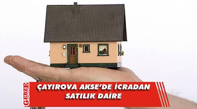 Çayırova Akse'de 110 metrekare daire icradan satılık