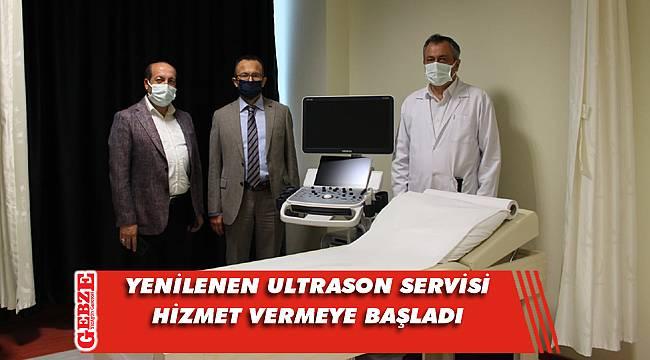 Dilovası Devlet Hastanesi'nde ultrason servisi yenilendi