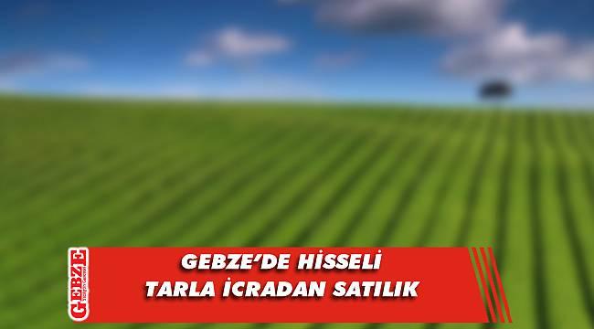 Gebze'de hisseli tarla icradan satılık