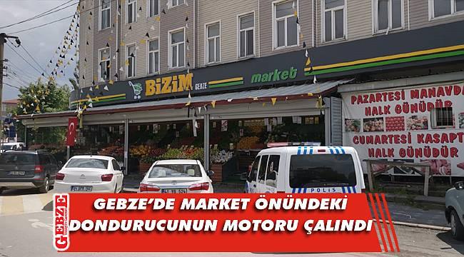 Gebze'de marketten 10 bin TL'lik malzeme çalındı