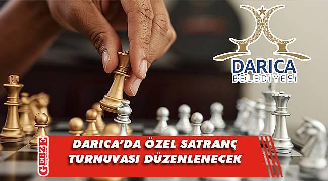 Görme engelliler için Darıca'da online satranç turnuvası