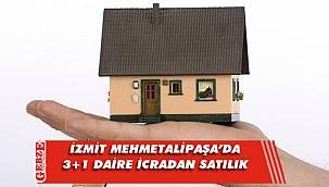 İzmit Mehmetalipaşa'da 3+1 daire icradan satılık