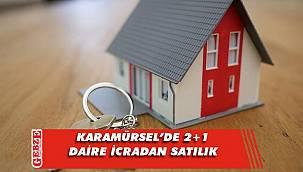 Karamürsel'de icradan satılık daire