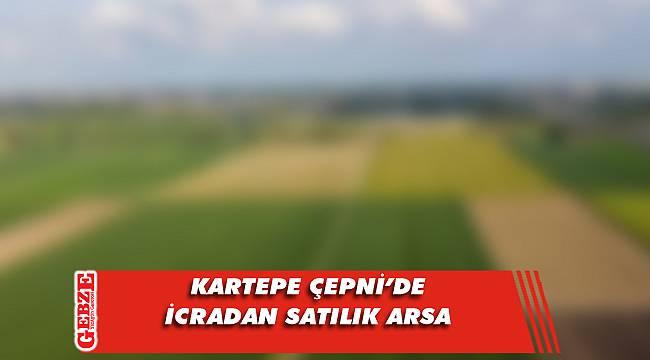 Kartepe Çepni'de icradan satılık arsa