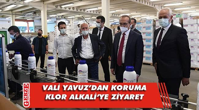 Vali Yavuz, Koruma Klor Alkali'yi gezdi