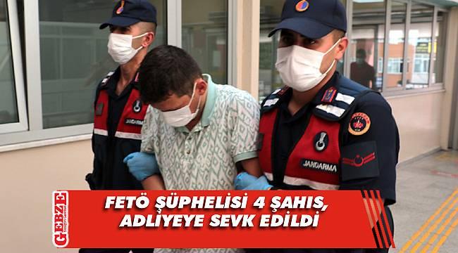 Dün Gebze'de yakalanan şüpheliler adliyede
