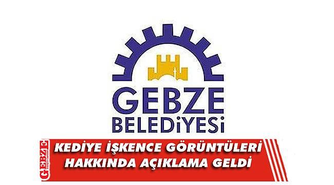 Gebze'de kaydedilen görüntülere belediyeden açıklama!