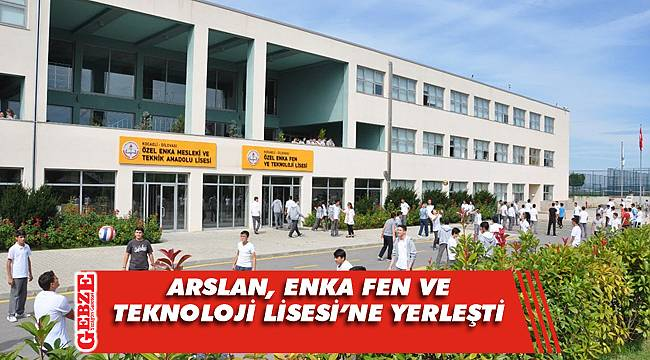 Gebze'nin LGS birincisi o okula yerleşti