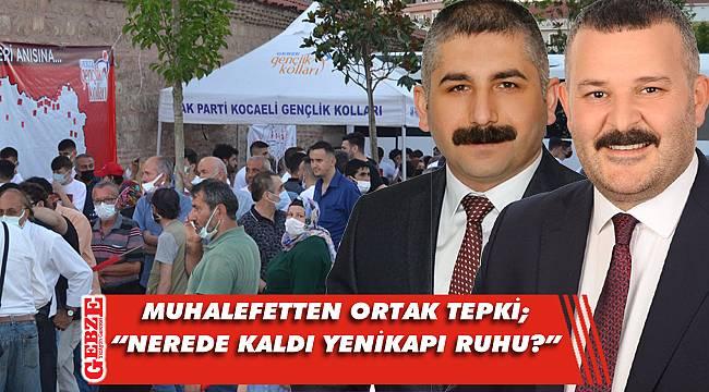 Orhan ve Uluköylü, kutlamaları terk etti