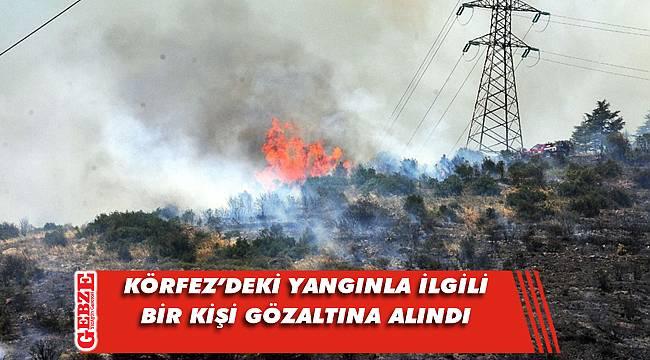 Orman yangınıyla ilgili soruşturma sürüyor