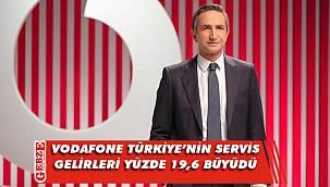 Vodafone Türkiye, gelirlerini artırmayı sürdürüyor