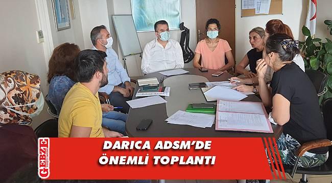 Darıca ADSM'de komite toplantısı yapıldı