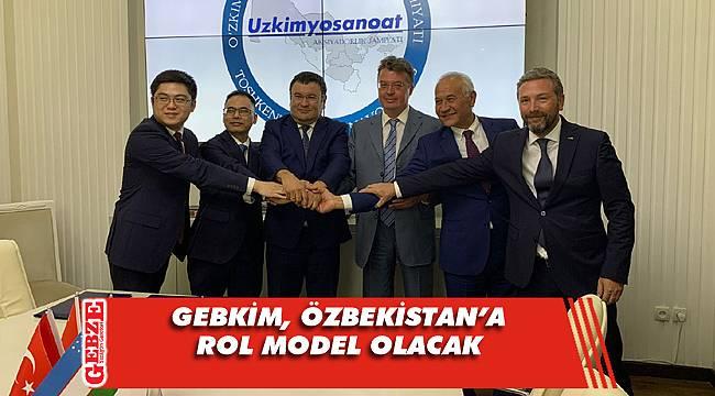 GEBKİM heyeti, Özbekistan'da işbirliği protokolü imzaladı