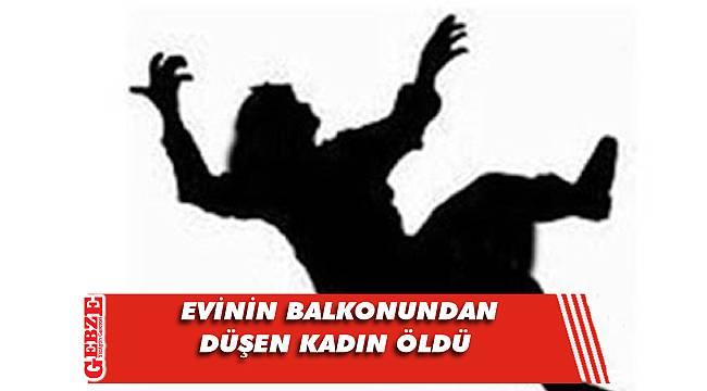 İzmit'te evinin balkonundan düşen kadın öldü