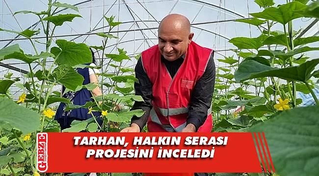 Tarhan, o projeyi Türkiye'ye örnek olarak gösterdi