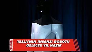 Tesla insansı robotunu tanıttı