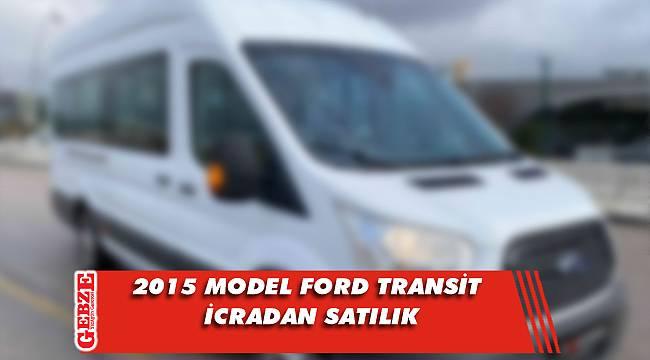 2015 model Ford Transit icradan satılık