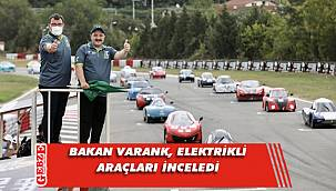 Bakan Varank, Körfez'deki yarışlara katıldı