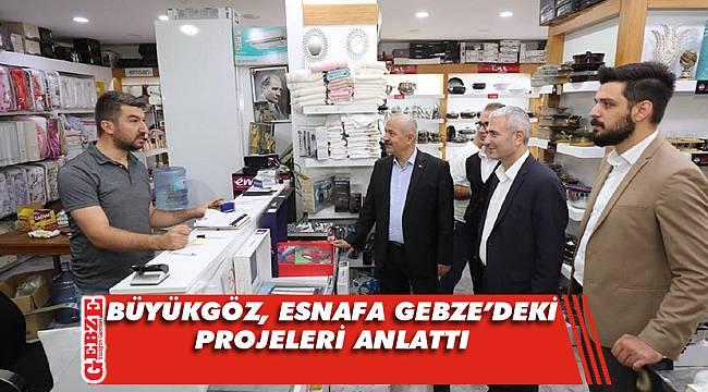 Büyükgöz ve AK Parti heyeti Hacı Halil Mahallesi'nde