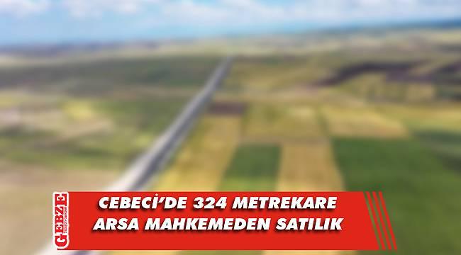Cebeci'de 324 metrekare arsa mahkemeden satılık