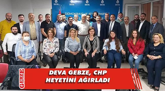 CHP Gebze'den DEVA Gebze'ye ziyaret