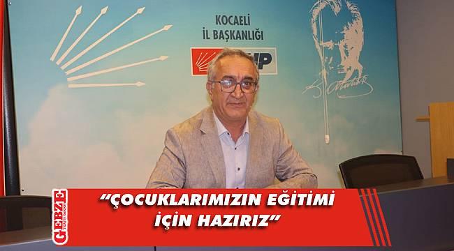 CHP Kocaeli'nden eğitim açıklaması