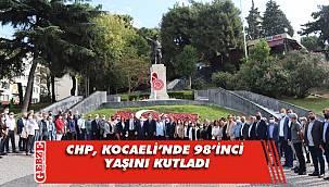 CHP'nin yeni yaşında Ata'nın huzuruna çıktılar