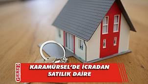 Karamürsel'de 72 metrekare daire icradan satılık