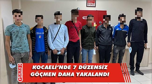 Kocaeli'nde düzensiz göçmen operasyonları bitmiyor
