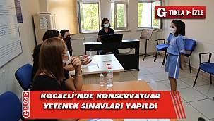 Konservatuvar yetenek sınavları yapıldı