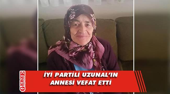 Mehmet Şeref Uzunal'ın anne acısı