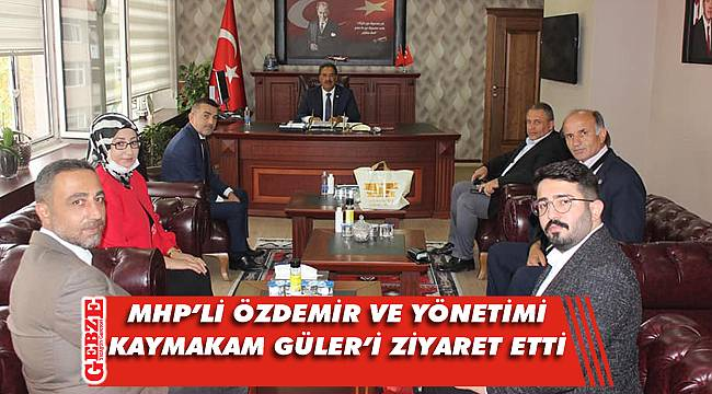 MHP Gebze, Kaymakam Güler'e gitti