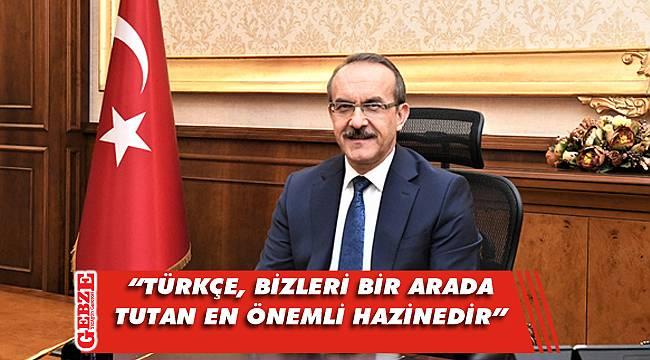 Vali Yavuz'dan Türk Dil Bayramı mesajı