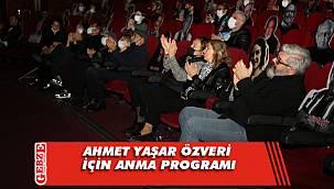 Meslektaşları, Ahmet Yaşar Özveri'yi andı
