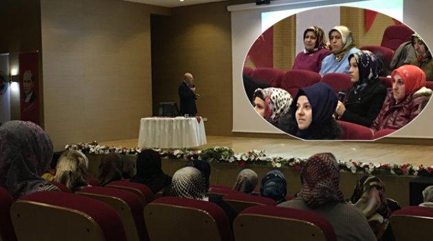 Dilovası halkına bilgilendirme konferansı