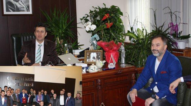 Hami Hoca'dan Rektör Görgün'e ziyaret