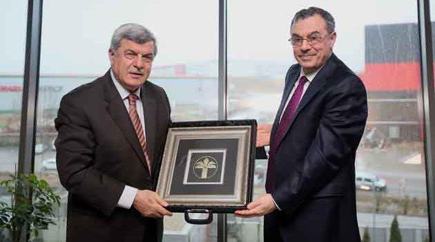 Karaosmanoğlu, Kuveyt Türk'e konuk oldu