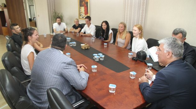 Rotary Kulübü'nden Özak'a ziyaret