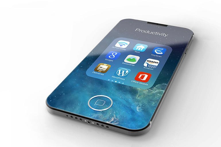 iPhone 7'nin çerçevesiz konsepti yayınlandı